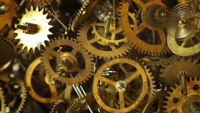 steampunk cogs abstract fantasy - photo #45