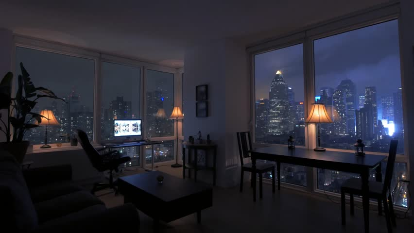 High Rise Apartment Interior Stock Footage Video Shutterstock